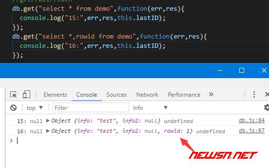 electron与sqlite,增删改查之select - sqlite_insert9