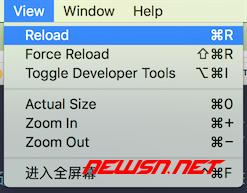 electron如何禁用本地缓存 - mac_menu