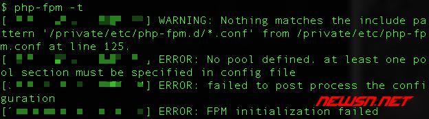 mac系统,php-fpm如何加入开机启动项 - 039