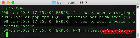 mac系统,由rootless引发的php-fpm不工作的问题 - 003