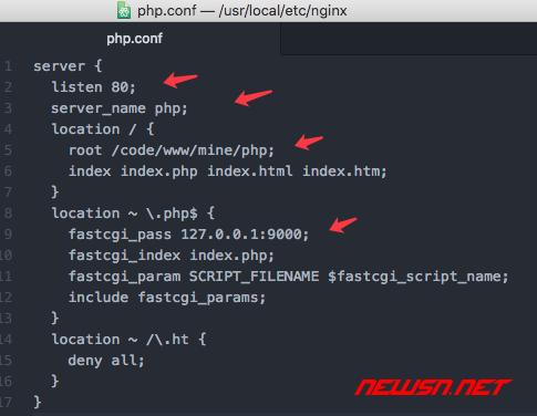 nginx配置vhost代理php程序 - 043