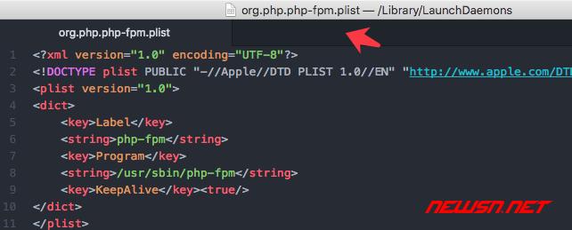 mac系统,php-fpm如何加入开机启动项 - 047_ok