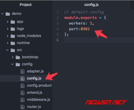 nginx代理基于thinkjs的node网站 - 020