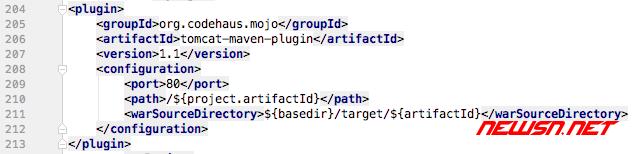 配置tomcat-maven-plugin插件,实现java项目代码无缝调试 - 003