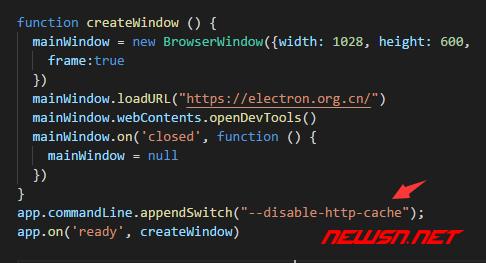 electron如何禁用本地缓存 - no_cache_code
