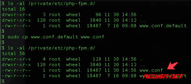mac系统,php-fpm如何加入开机启动项 - 041