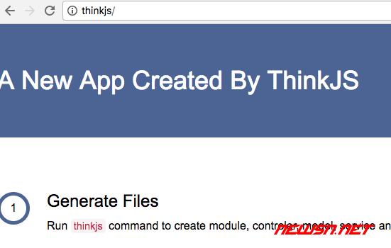 nginx代理基于thinkjs的node网站 - 011