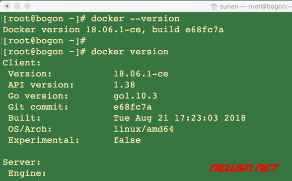centos服务器,如何通过yum安装特定版本的docker - 09_version