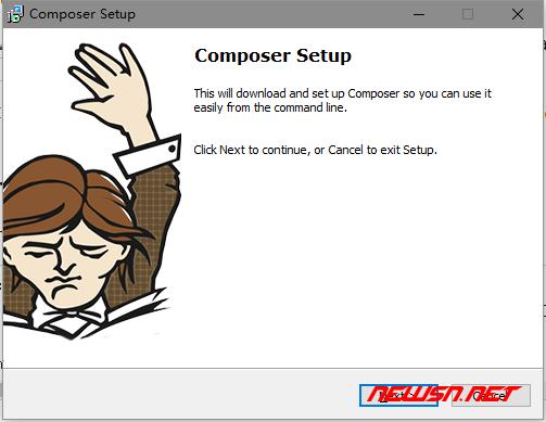 win系统,如何安装composer - composer_01