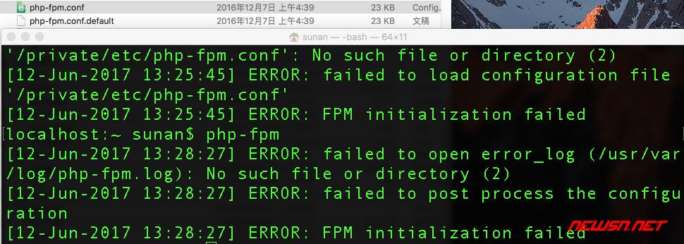 mac系统,apache使用fastcgi模式对接php - php-fpm-01