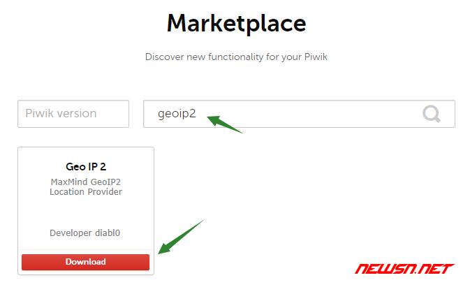 piwik如何启用geoip2 - geoip2