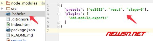 webpack、babel与react的那些事之一 - react_error_1
