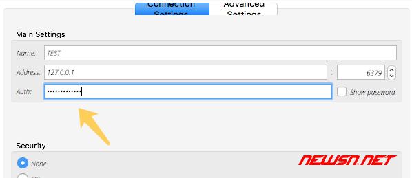 redisdesktop及命令行下,如何访问带密码的redis - pass_07
