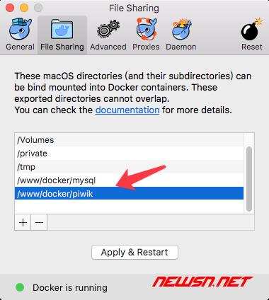 docker安装piwik - docker_folder_move