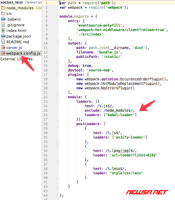 webpack、babel与react的那些事之一 - react_error_2
