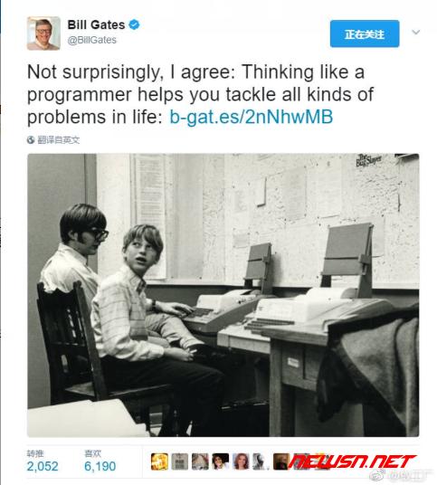 苏南大叔:围观一下:比尔盖茨的短域名 - twitter