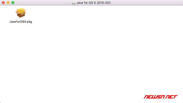 mac下安装eclipse时java运行时的问题 - mac_java_002