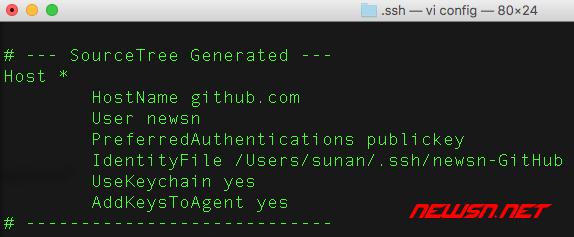 如何利用sourcetree管理github项目 - 022