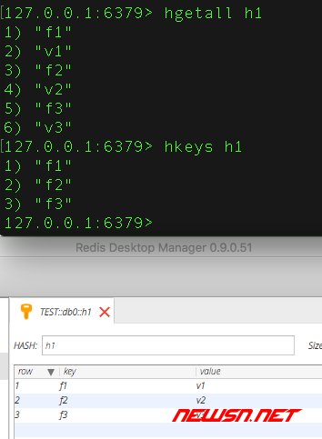 nodejs操作redis的hash集合 - 017