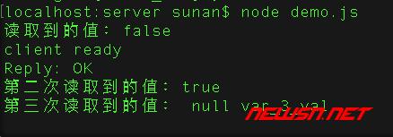 nodejs连接redis的步骤和方法 - 002