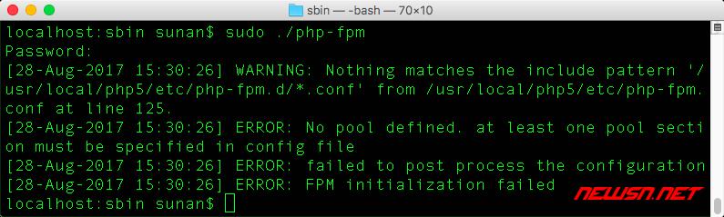 mac系统切换php,apache对接php-fpm - error_01
