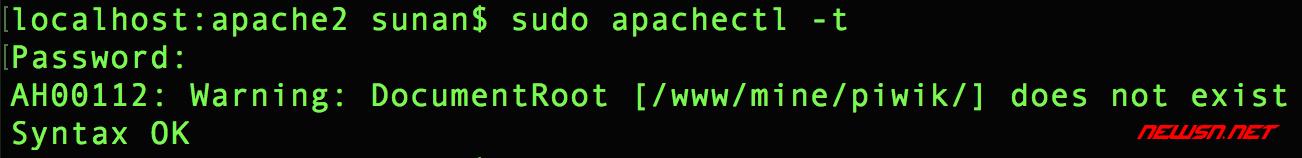 apache如何配置基于php的vhost网站 - 099