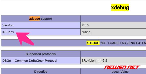 xdebug的phpini进阶设置 - xdebug_01
