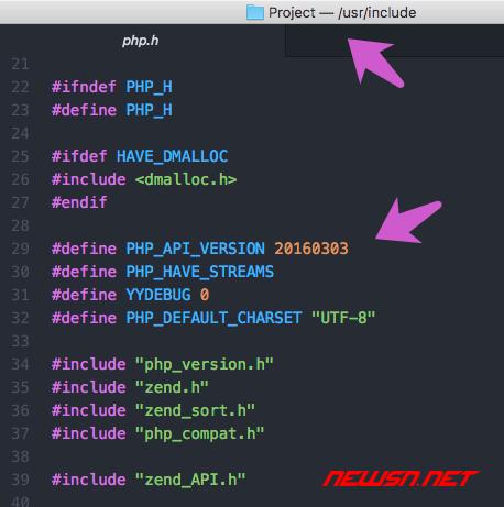 mac系统,phpize的那些事儿 - ini_version_3