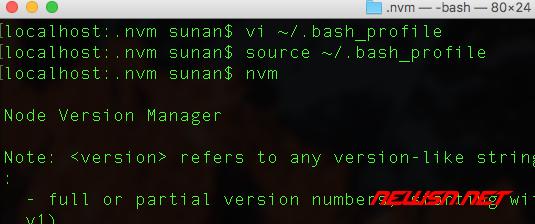 mac系统,如何安装node版本切换工具nvm - 002