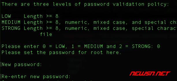 mysql安全设置命令mysql_secure_installation使用指南 - 001