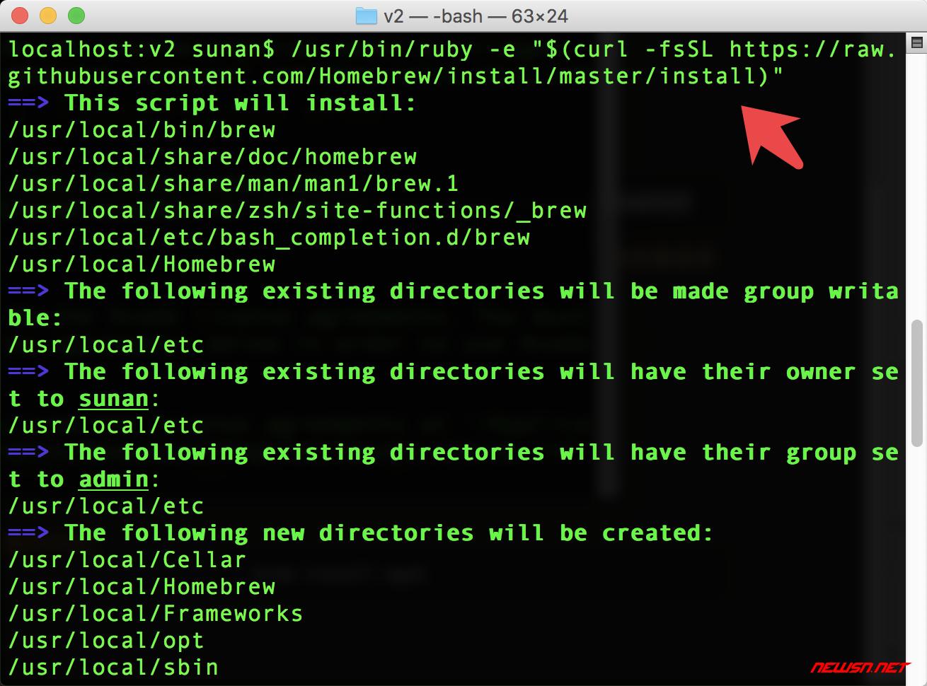 mac系统,如何安装homebrew - 001
