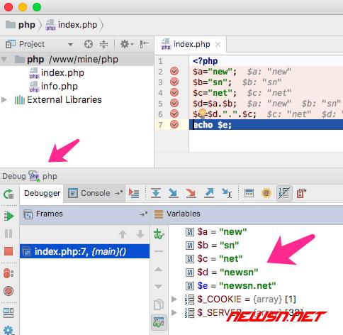 phpstromr如何结合xdebug断点调试php程序? - result