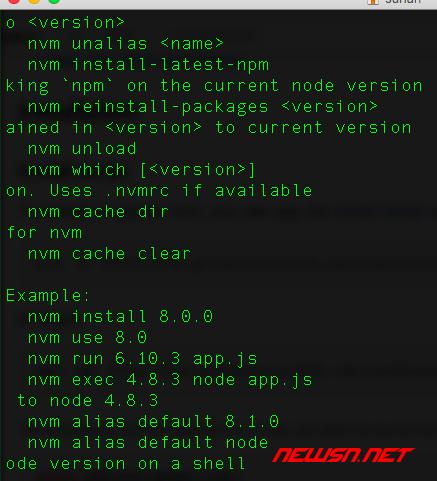 mac系统,如何安装node版本切换工具nvm - 025