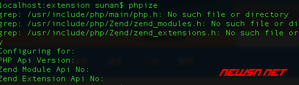mac系统,phpize的那些事儿 - error_phpize_null