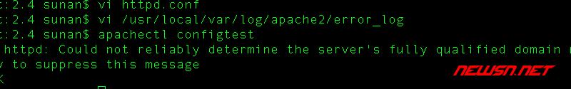 如何测试apache和nginx的配置是否正确 - 002