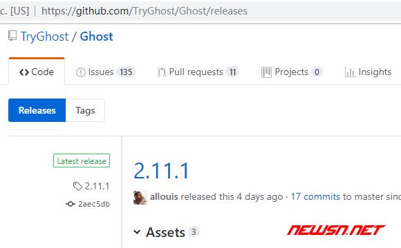 ghost博客如何通过源码初始化安装? - ghost