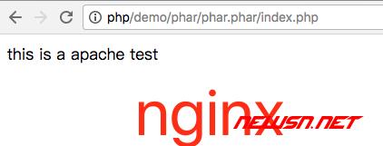 apache的handler模式下,phar安全设置 - nginx_test