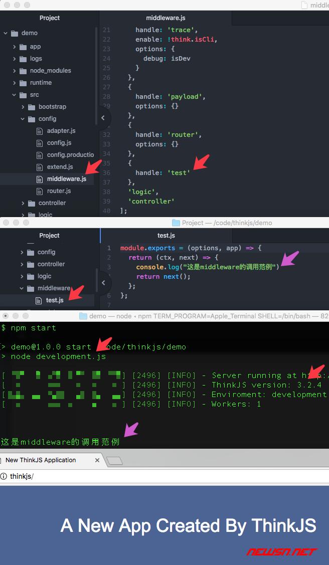 如何新建一个thinkjs的middleware - 001