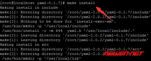 苏南大叔:centos,如何编译安装 php72 的 yaml 扩展 - 008_libyaml