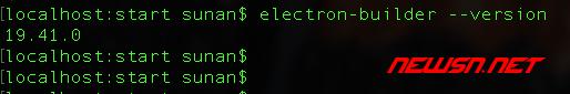 electron-builder打包工具的最简化使用 - 001_version
