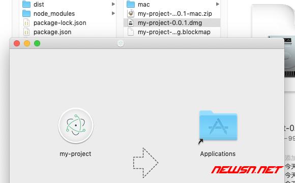 mac环境,利用builder构建electron+vue的demo - 025