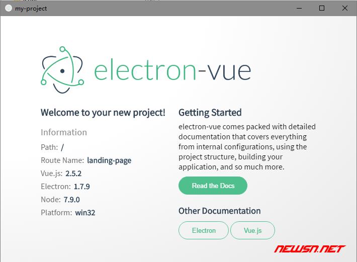 win环境,利用builder构建electron+vue的demo - 035_exe_02