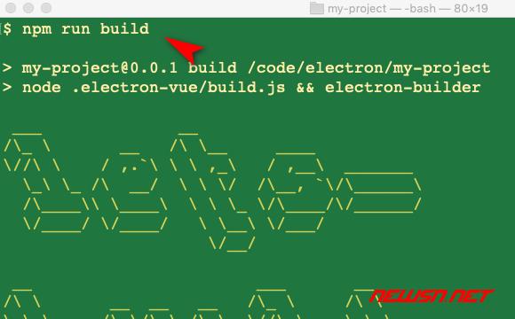 mac环境,利用builder构建electron+vue的demo - 021