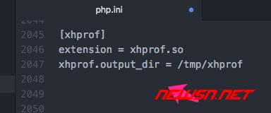 php性能分析利器xhprof扩展安装(php5.6.31) - 004