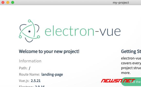 mac环境,利用builder构建electron+vue的demo - 027