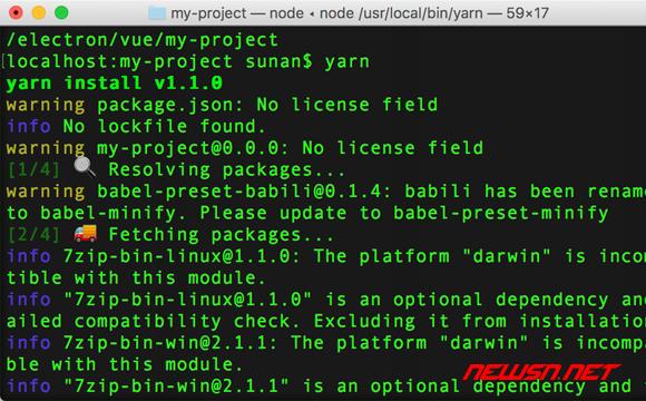 mac环境,利用builder构建electron+vue的demo - 010