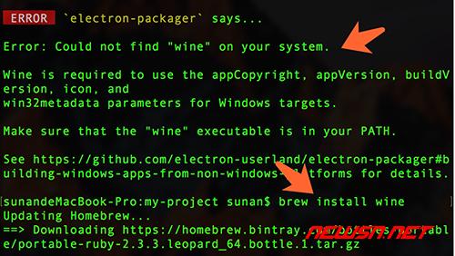 mac环境,利用packager构建electron+vue的demo - 000