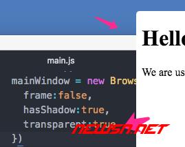 mac,electron窗体如何去除系统阴影 - 03_透明设置最强大