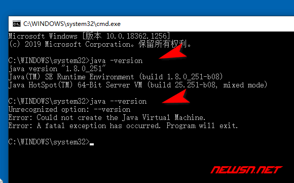 "java8报错""Could not create the Java Virtual Machine""解决方案 - java001"