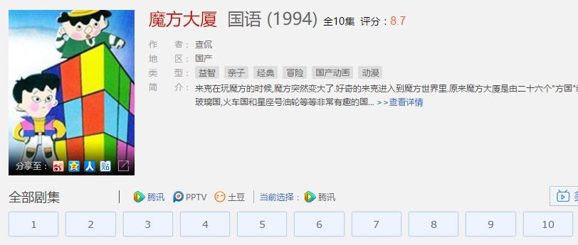 美国大片《异次元杀阵》VS 中国动画片《魔方大厦》 - 001